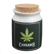 Roast & Toast Stash Jar - Green Leaf (MSRP $15.00)