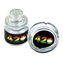 Roast & Toast - Ashtray Set with Stash Jar (MSRP $15.00)