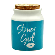 Roast & Toast Stash Jar - Stoner Girl (MSRP $15.00)