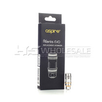 Aspire Atlantis EVO Replacement Coils Pack Of 5 (MSRP $19.99)