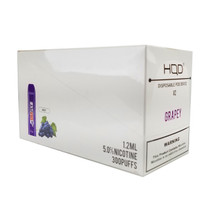 HQD - Cuvie V2 Disposable 1.2ml 5% 3 Pack - Display of 10 (MSRP $14.99ea)