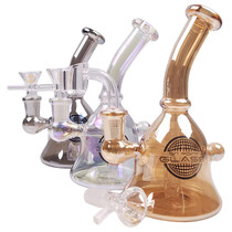 "On Point Glass - 6"" High Gloss Mini Rig - with 14M Bowl & Banger (MSRP $65.00)"