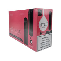 MYLE - Mini 1.2ml Disposable 5% 2 Pack - Display of 10 (MSRP $14.99ea)