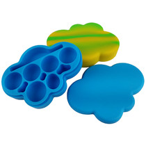 Silicone Storage 127mm 85ml - Cloud - 2 Pack (MSRP $15.00ea)