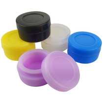 Silicone Storage 38mm - Jar Solid Colors - 5 Pack (MSRP $3.00ea)