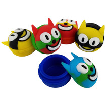 Silicone Storage 45mm 15ml - Clock Cat - 5 Pack (MSRP $5.00ea)