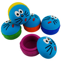 Silicone Storage 45mm 15ml - Blue Cat - 5 Pack (MSRP $5.00ea)