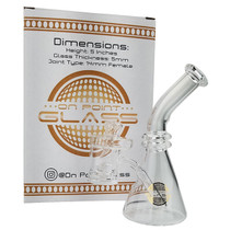 "On Point Glass - 5"" Core Reactor Banger MIni Rig & Directional Carb Cap Box Set (MSRP $55.00)"