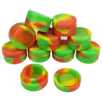 Silicone Storage 32mm - Mixed Color Jar - 10 Pack (MSRP $3.00ea)