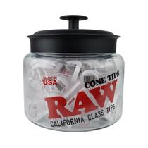 RAW - ROOR Glass Cone Tips - Jar of 75 (MSRP $6.00ea)