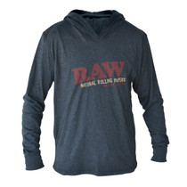 RAW® - Lightweight Hoodie - Dark Grey (MSRP $40.00)