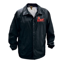RAW® - Coach Jacket - Black (MSRP $50.00)