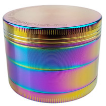 "Chromium Crusher - 2.3"" 4Part Grinder - Rainbow (MSRP $25.00)"