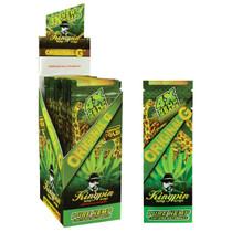Kingpin® Hemp Wraps - 4 Pack Box of 25 - Original G (MSRP $2.00ea)