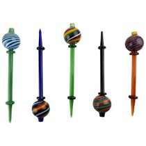 Color Swirl Carb Cap Dabber Combo - 5 Pack (MSRP $30.00ea)