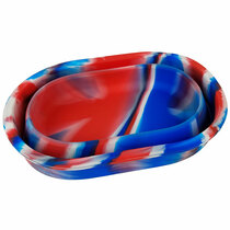 """7.5"""" Silicone Foldable Tray - Single Assorted (MSRP $15.00)"""