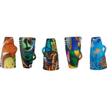 """2"""" Silicone Water Transfer Chillum Hand Pipe - Single Assorted (MSRP $7.00)"""