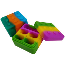 Silicone Storage 50mm - Build Block - 2 Pack (MSRP $5.00ea)