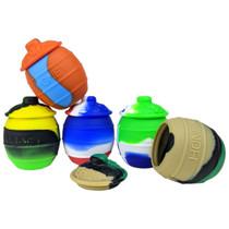 Silicone Storage 56mm 35ml - Honey Jar - 5 Pack (MSRP $5.00ea)