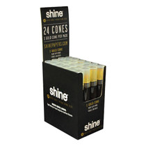 Shine 24K Gold Cones - Pre-Rolled Cone KS - Display of 24 (MSRP $14.00ea)