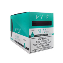 Myle - Slim Disposable 1ml 5% - Display of 20 (MSRP $14.99ea)