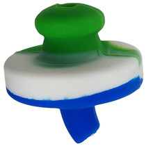 "1.5"" Silicone Directional Carb Cap - 5 Pack (MSRP $5.00ea)"