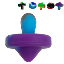 Silicone Spin Top Carb Cap - 5 Pack (MSRP $5.00ea)