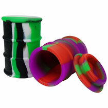 "2"" Silicone Storage - Oil Barrel - 2 Pack (MSRP $6.00ea)"
