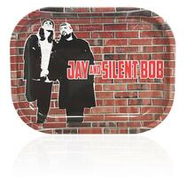 Jay & Silent Bob - Aluminum Rolling Tray (MSRP $9.99-$18.99)