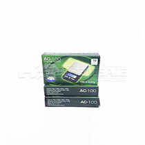 AWS - Ace Digital Pocket Scale Black 100 x .01g