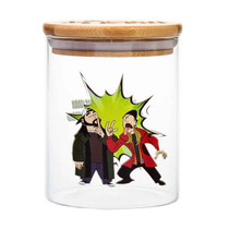 Jay & Silent Bob - Glass Stash Jar (MSRP $13.99)