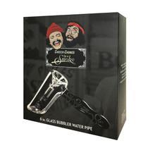 "Famous x Cheech & Chong - 6""  Bubbler Hand Pipe (MSRP $29.99)"
