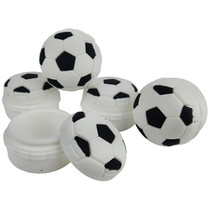 Silicone Storage 45mm 15ml - Soccer Ball - 5 Pack (MSRP $5.00ea)