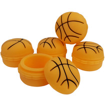 Silicone Storage 45mm 15ml - Basketball - 5 Pack (MSRP $5.00ea)