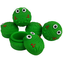 Silicone Storage 45mm 15ml - Green Frog - 5 Pack (MSRP $5.00ea)