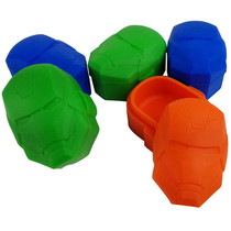 Silicone Storage 48mm  - ROBOT MAN - 5 Pack (MSRP $4.00ea)