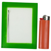 """Silicone Mat - 3.15""""x4.72"""" - Single (MSRP $5.00)"""