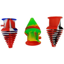 "3"" Silicone Mix Color Water Pipe Cleaning Plug - Single Assorted (MSRP $7.00)"