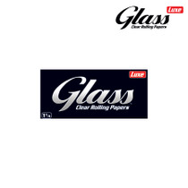Luxe - Glass Clear Rolling Papers Cellulose 1¼ - Display of 24 (MSRP $2.00ea)