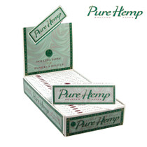 Pure Hemp - Rolling Papers 1¼ - Display of 25 (MSRP $2.50ea)