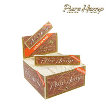 Pure Hemp - Unbleached Rolling Papers K/S - Display of 50 (MSRP $2.50ea)
