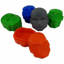 Silicone Storage 26mm 10ml - Super Hero A - 5 Pack (MSRP $4.00ea)
