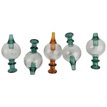 Directional Ball Carb Cap With Marble - Assorted Colors - 5 Pack (MSRP $20.00)