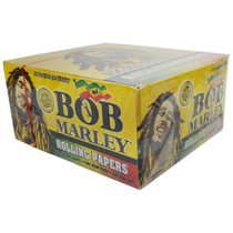 Bob Marley® - Pure Hemp Rolling Papers King Size - Display of 50 (MSRP $2.00ea)