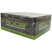 ROOR® - Unbleached Rolling Papers King Size - Display of 50 (MSRP $1.75ea)