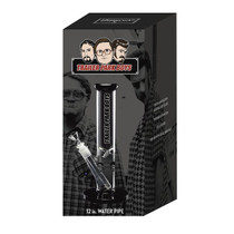 """Trailer Park Boys - Famous X Trailer Park Boys 12"""" Straight Pipe Water Pipe - with 14M Bowl Box Set (MSRP $89.99)"""