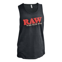 RAW® - Black Tank Top (MSRP $25.00)