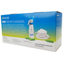Whip It - N20 Cream Chargers - 50ct Sleeve