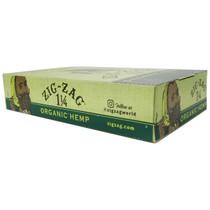 Zig Zag - Organic Hemp Rolling Papers 1¼ - Display of 24 (MSRP $2.00ea)