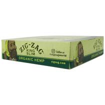 Zig Zag - Organic Hemp Rolling Papers King Size Slim - Display of 24 (MSRP $2.00ea)
